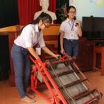 Cuộc thi khoa học kỹ thuật cho học sinh THCS huyện Trực Ninh năm 2016