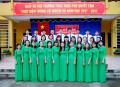 Một số hình ảnh của thầy và trò trường THCS thị trấn Ninh Cường